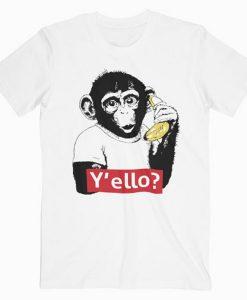 Y'ello Monkey t shirt