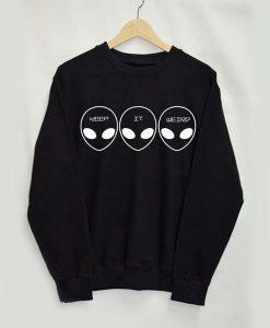 Alien's sweatshirt