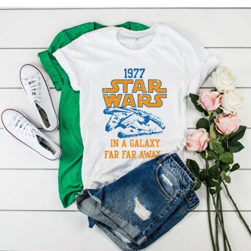 Star Wars 1977 t shirt