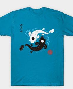 Yin-Yang Koi Fish Avatar the Last Airbender t shirt