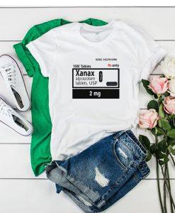 xanax t shirt