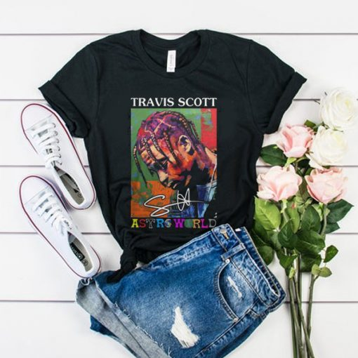 Travis Scott Astroworld Black tshirt