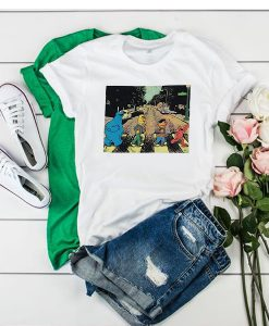 Sesame Street Abbey Road t shirt