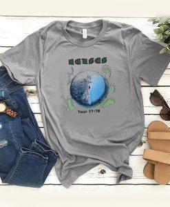 1970's KANSAS vintage concert 1977-78 TOUR vintage band t shirt