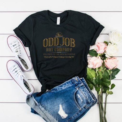 Odd Job Hat Company t shirt