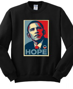 US President Barack Obama Hope sweatshirt