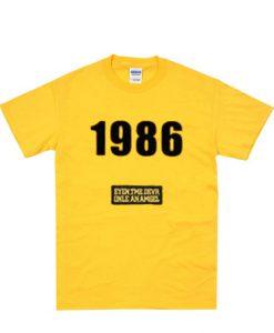1986 graphic t shirt