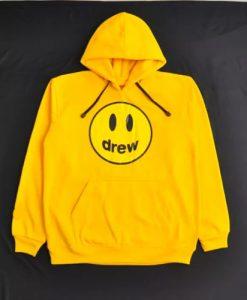 Drew House Yellow hoodie