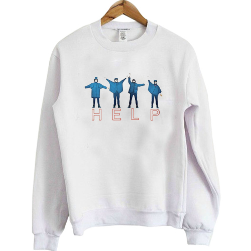 The Beatles Help sweatshirt
