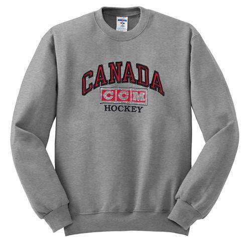 canada ccm hockey sweatshirt